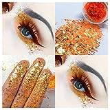 Sunnyadrain colore Glitter Ombretto diamante arcobaleno Make Up Cosmetici occhio ombra magnetica Palette