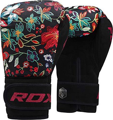 RDX Frauen Boxhandschuhe Gel Sparring Handschuhe Boxsack Damen Handschuhe Ausbildung Muay Thai (MEHRWEG)