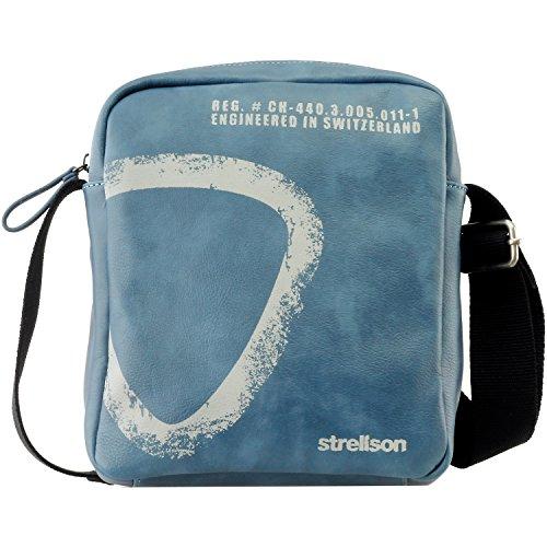 Strellson Paddington ShoulderBag SV 4010001169 Herren Schultertaschen 21x25x6 cm (B x H x T), Braun (mud 752) Petrol