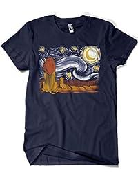 1951-Camiseta Starry King (ddjvigo)