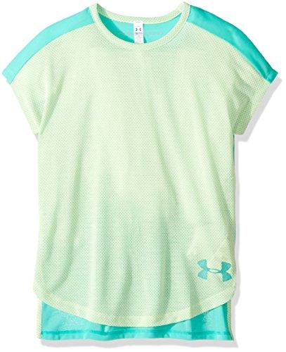 Under Armour Mädchen Threadborne Play Up T-Shirt, Mädchen, Absinthe Green (190)/Absinthe Green, Youth X-Large -
