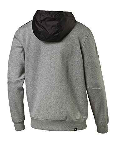 Puma Herren Lux Hoody Fl Pullover Medium Gray Heather