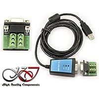 KALEA-INFORMATIQUE © - Convertisseur USB vers RS422 RS485 CHIPSET FTDI FT232 - CORDON 1.8M - PROTECTION MAGNETIQUE - Permet le montage d'un materiel RS-485 RS-422 sur un simple port USB