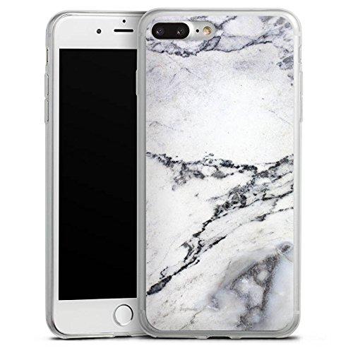 Apple iPhone X Slim Case Silikon Hülle Schutzhülle Stein Marmor Marble Look Muster Silikon Slim Case transparent