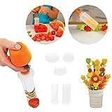 BIlinl Obstsalatformer Schnitzen Gemüseschneider Kit Smoothie Kuchen Küche Bar Werkzeuge Obst Schnitzwerkzeug