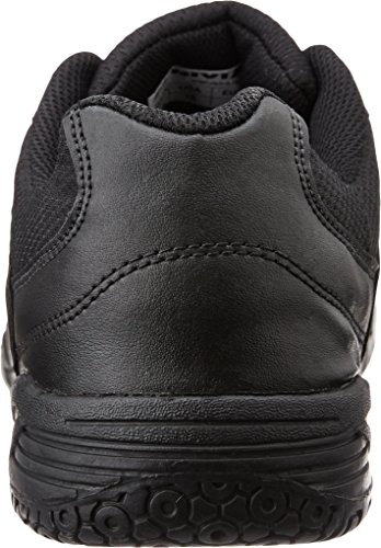 Nivia Mesh PVC School Shoes, Men's 7 UK (Black)