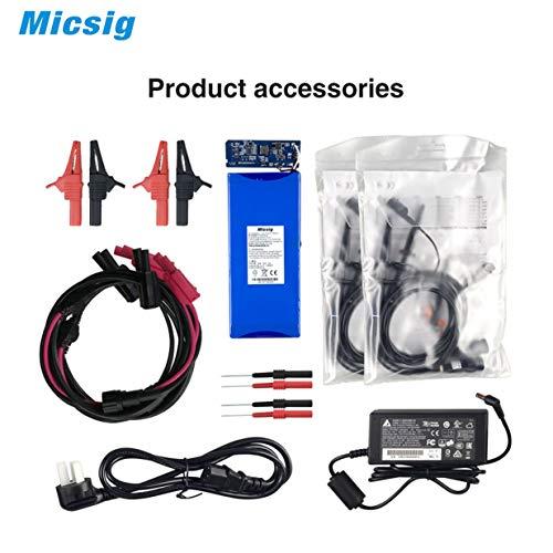 Micsig Oszilloskop Digital Automotive Tablet Oscilloscope 100MHz ATO1102 - Schwarz