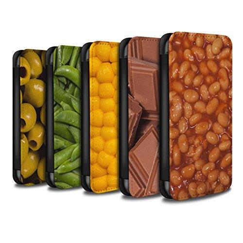 Stuff4 Coque/Etui/Housse Cuir PU Case/Cover pour Apple iPhone 4/4S / Chocolat Design / Nourriture Collection Pack 10pcs