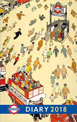 London Underground Poster Diary 2018 (Diaries 2018) thumbnail