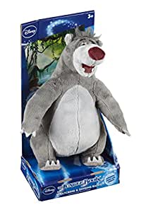 disney the jungle book scratching singing baloo peluche parlant anglais 30 cm import uk. Black Bedroom Furniture Sets. Home Design Ideas