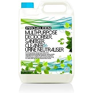5L of Multi-Purpose Deodoriser, Disinfectant, Sanitiser, Cleaner & Urine Neutraliser - Super Concentrated, Professional… 24