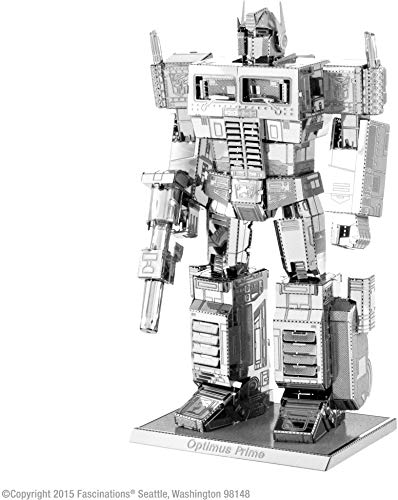 Metal Earth Transformers Optimus Prime,, Kit modellino