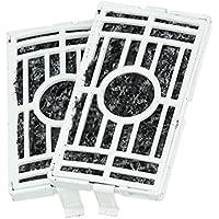 Spares2go - Kit de filtros de repuesto de carbón activo para frigorífico PurifAir (2 unidades)