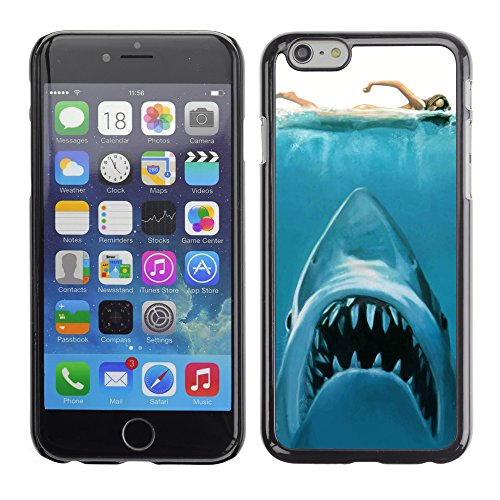 Graphic4You Hai Tier Design Harte Hülle Case Tasche Schutzhülle für Apple iPhone 6 / 6S Design #3