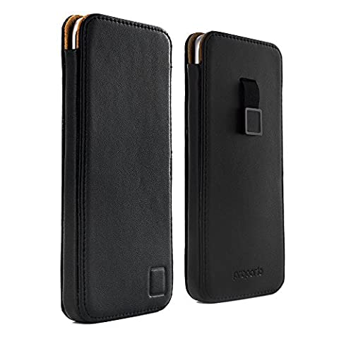 Official PROPORTA® Genuine Real Leather Sleeve for the Samsung Galaxy