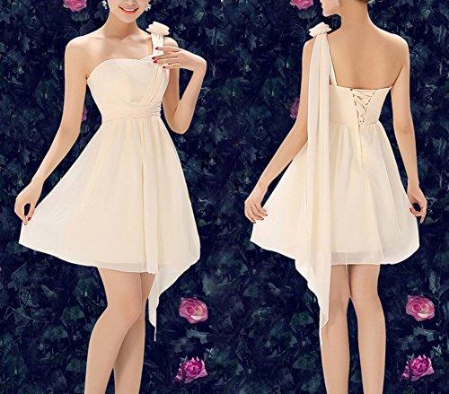 LaoZan Robe courte lace avec une variété de styles parfait pour demoiselle d'honneur Couleur4