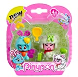 Pinypon Pack 2 mascotas, mariposa y