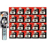 7 O'Clock Super Platinum Safety Razor W/ 5 Blades + Personna Double Edge Stainless Steel Refill Blades