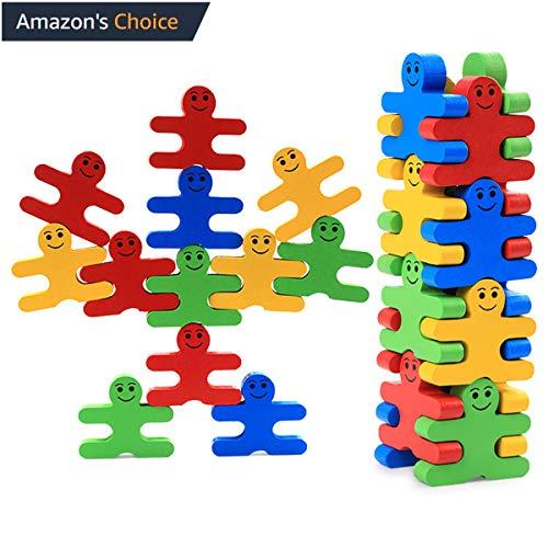 Genossen giocattolo educativo in legno per bambini, 16 pezzi