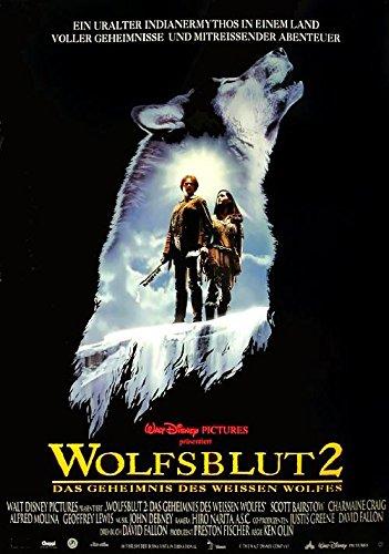 Wolfsblut 2: das Geheimnis des weissen Wolfes (1994)   original Filmplakat, Poster [Din A1, 59 x 84 cm]