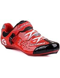 SIDEBIKE Ciclismo Road Racing zapatilla de deporte del deporte de la bicicleta MTB zapatos de ciclo