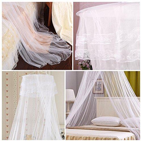 Mture moustiquaire ciel de lit grande moustiquaire - Moustiquaire baldaquin pour lit double ...