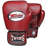 Twins Special Boxhandschuhe, Leder, BGVL-3, weinrot