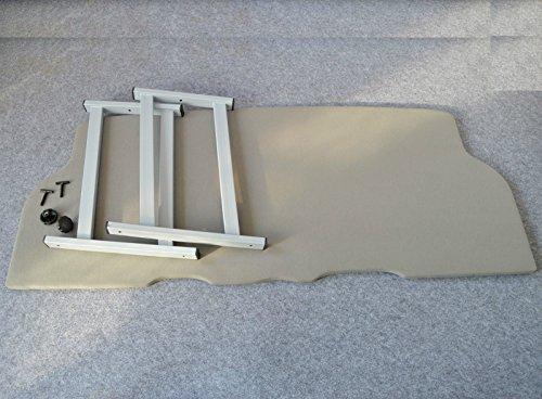 Preisvergleich Produktbild Multiflexboard-VW-T5-Multivan-Konsolen-H-53-cm-Bettverlaengerung-Platte