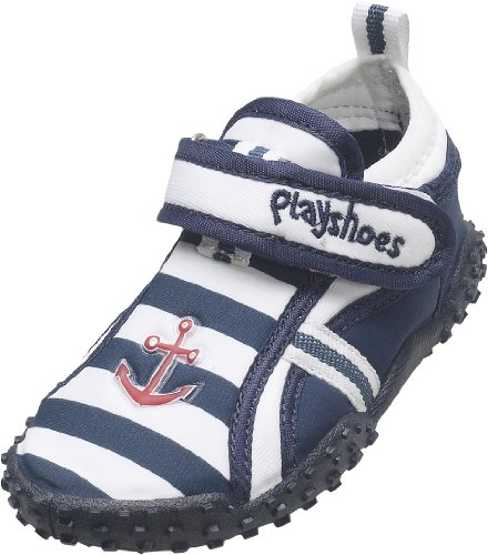 Playshoes Jungen UV-Badeschuhe Aqua Schuhe, Blau (original 900), 22/23 EU