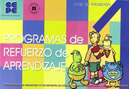 Programa de refuerzo de aprendizaje (PRA). 1 (Estrategias Para Aprender) por Joaquin Sanchez-Cabezudo