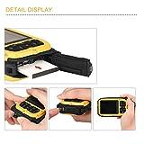 Wasserdichte Kamera Stoga CGT002 2,7 Zoll LCD Digitalkamera 16MP Video Camcorder wasserdicht Kamera Zoom Video Recorder + 8 X Zoom Cam-gelb - 5