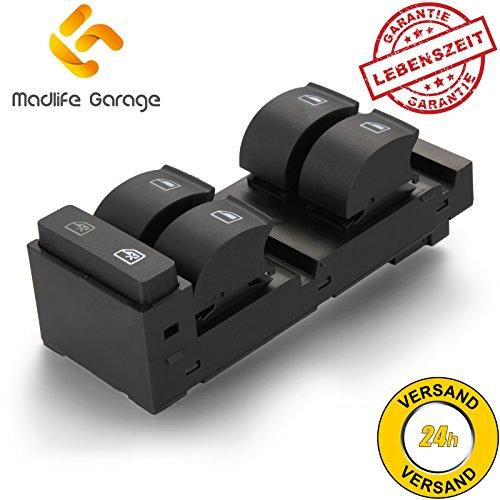 Madlife Garage 4B0959851B Fensterheberschaltelement Fensterheber Schaltelement Schalter