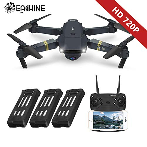 EACHINE Drone Plegable con HD Camara