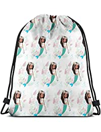 2 Chloe The Mermaid Stand Alone Mix U0026 Match_8944 Custom Drawstring Shoulder Bags Gym Bag Travel