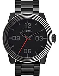Reloj Nixon Star Wars Corporal SS A346SW2444 Hombre Negro Acero IP Negro