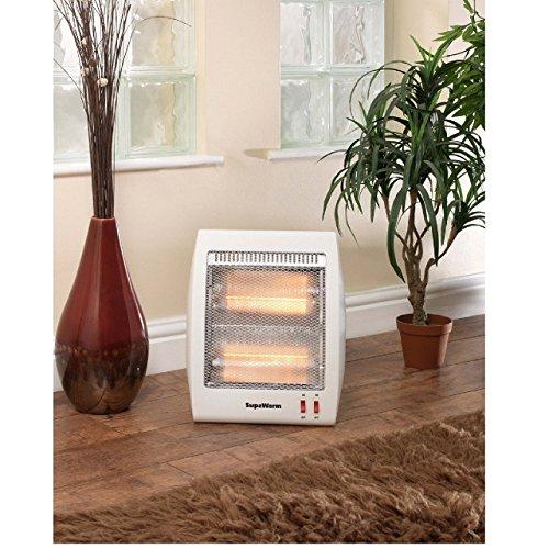 Supawarm Portable Halogen Heater – 800W