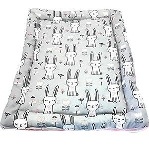Katzenmatte Katzenbettchen – Häschen – mit Katzenminze/Baldrian