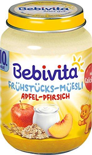 Bebivita Frühstücks-Müsli Pfirsich 160g