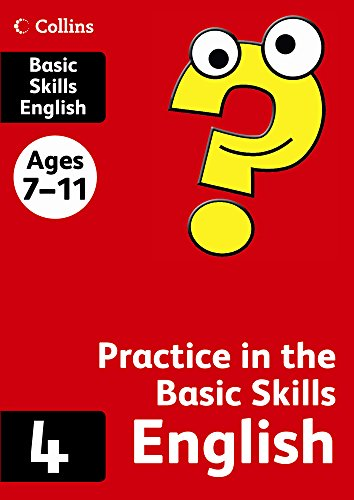 Collins Practice in the Basic Skills – English Book 4