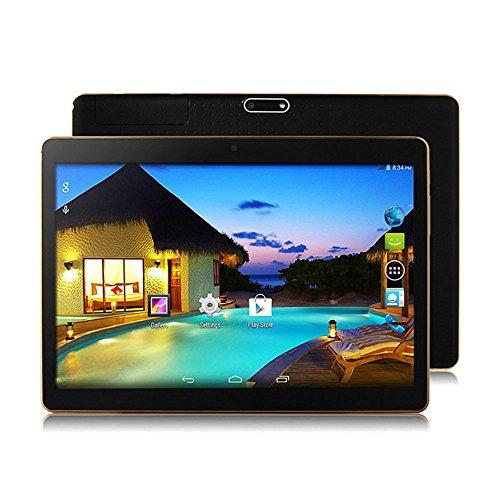 10,1 Zoll Android 6.0 3G Quad-Core-Tablet 1 GB + 16 GB Dual-Kamera Wifi Bluetoot mit WIFI, Qualitätssicherung, Test-Verkäufe sind sehr gut (Black)