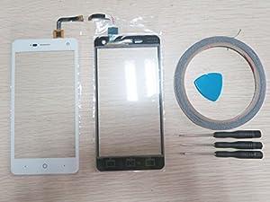 For ZTE Blade L3 Touchscreen Digitizer Glas Display Scheibe Weiß+Werkzeug & Klebeband