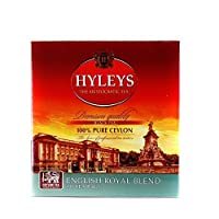 Hyleys English Special Blend Black Tea 100 Tea bags 7.05 Oz (pack of 3)