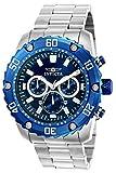 Invicta 22517 Pro Diver Reloj para Hombre acero inoxidable Cuarzo Esfera azul