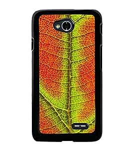 PrintVisa Leafs Designer Design High Glossy Designer Back Case Cover for LG L70 Dual :: LG L70