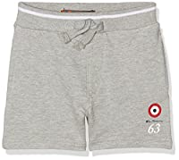 Ben Sherman Boy's Loopback Shorts, Grey (Charcoal Grey Marl), 12-13 Years
