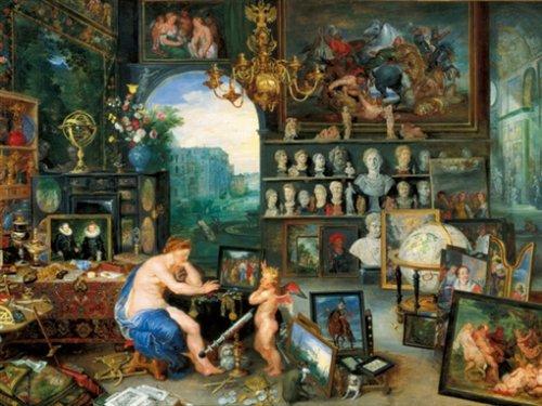 Ravensburger 16658 Brueghel: Allegoria dei Sensi Puzzle 2000 Pezzi