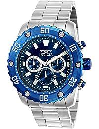 Invicta 22517 - Reloj de pulsera para hombre, color gris/azul
