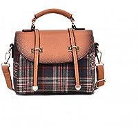 3398df4c069d8 YTTY Geprägte Schultertasche Farbe Schultergurt Weibliche Umhängetasche Hit  Farbe Pumpen Set Kleine Platz Handtaschen
