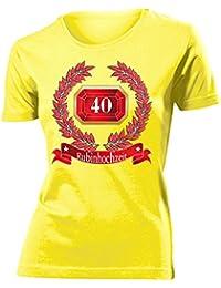 HOCHZEITSTAG - RUBINHOCHZEIT 40 JAHRE EHE T-Shirt Damen S-XXL
