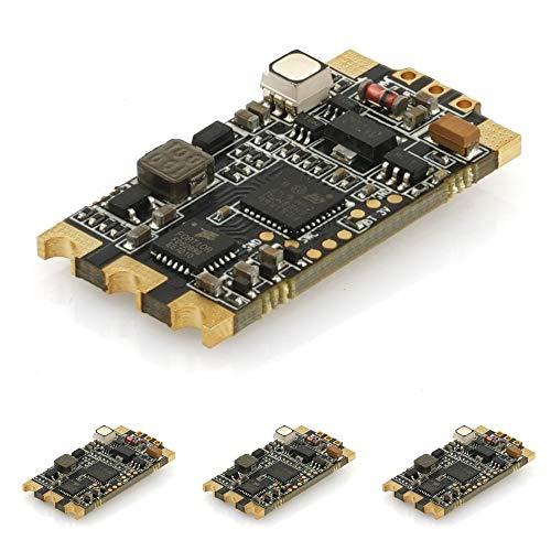 DroneAcc 4pcs ESC 35A Wraith32 32bit BLHeli_32 ( DSHOT1200 + RGB-LED ) Unterstützung 2-6S Eingebauter Stromsensor Für 30A ESC FPV Racing Quadcopter Drohne 20a Pack